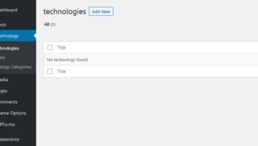 Create a Custom Post Type in WordPress