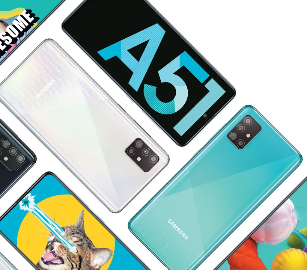 Samsung launched its Galaxy A51 smartphone